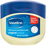 Vaseline 100% Pure Petroleum Jelly, 13Ounce Jars (Pack of 3)