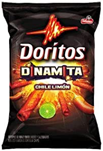 Doritos Dinamita Chile Limon Rolled Tortilla Chips