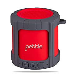 Pebble Blast Bluetooth Speakers (Red)