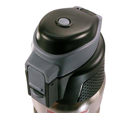 UNICO(ユニコ) B.free ( ビーフリー ) ステンレスサーモボトル クール & ホット 500E カラー: シルバー
