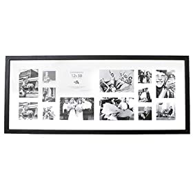 collage wall photo frames