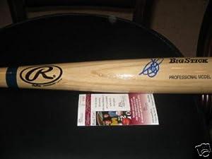 Todd Helton Autographed Bat - hof Jsa coa Big Stick - Autographed MLB Bats