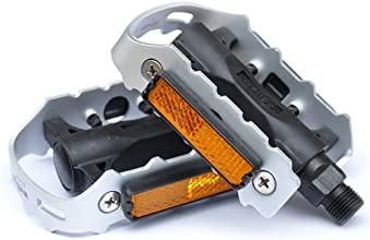 MTB Bike Platform Pedals Aluminium Alloy Black bicycle accessories