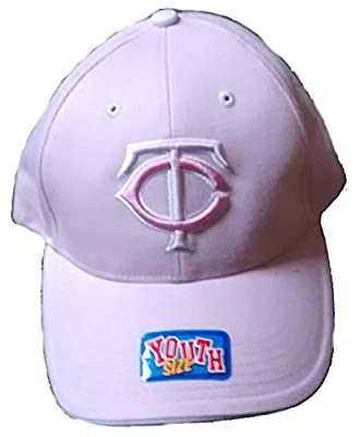 Lil' Pinky Girl's Cap Youth Minnesota Twins Adjustable Hat