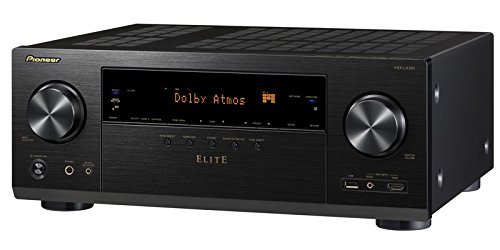 Pioneer VSXLX301 7.2 Channel Networked AV Receiver with Built-In Bluetooth & Wi-Fi (Black)