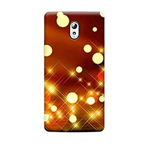 Digi Fashion Designer Back Cover with direct 3D sublimation printing for Lenovo VIBE P1m