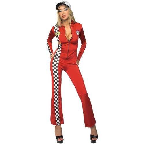 Red Racer Costume - Medium - Dress Size 10-14