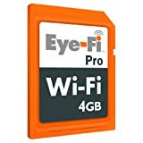 Eye-Fi Pro 4GB Wireless SDHC Memory Cardby Eye-Fi
