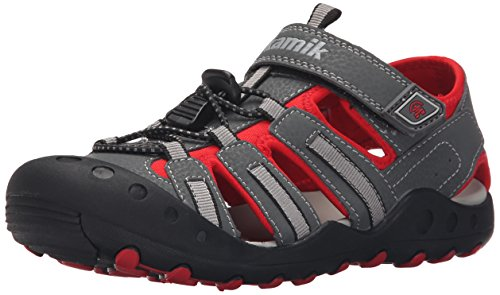 Kamik Crab Sandal (Toddler/Little Kid/Big Kid), Charcoal, 12 M US Little Kid