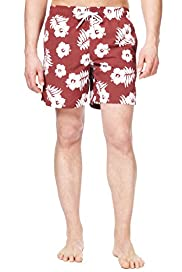 Blue Harbour Floral Print Swim Shorts