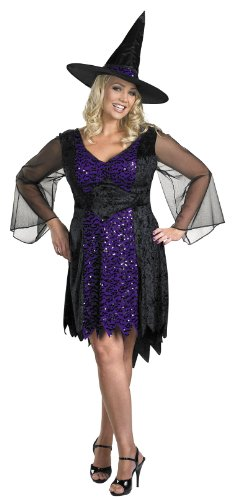 Disguise Women's My Brilliantly Bewitched Women Plus Size Costume