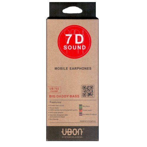 UBON UB703 Big Daddy Bass In Ear Headset