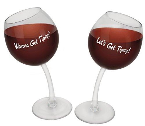 novelty wine glasses gifts