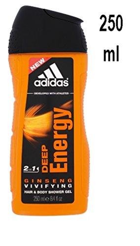 Adidas Men capelli & Gel Doccia 2in1Deep Energy-250ml
