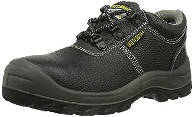 Safety Jogger BESTRUN, Unisex - Erwachsene Arbeits & Sicherheitsschuhe S3, schwarz, (black BLK), EU 36