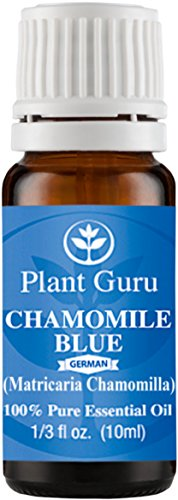 Chamomile Blue (German) Essential Oil. 10 ml. 100% Pure, Undiluted, Therapeutic Grade. ★★★UNCUT DARK BLUE★★★ (Blister Kit Vaporizer compare prices)