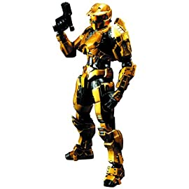 Square Enix Halo Play Arts Kai: Gold Spartan Action Figure