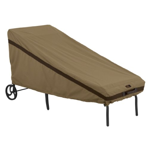 Classic Accessories 55-210-012401-EC Hickory Patio Day Chaise Cover, Tan