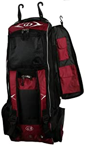Buy Diamond Sports Boost Wheeled Player's Bat Bag (35 x 13 x 12-Inch) by Diamond Sports