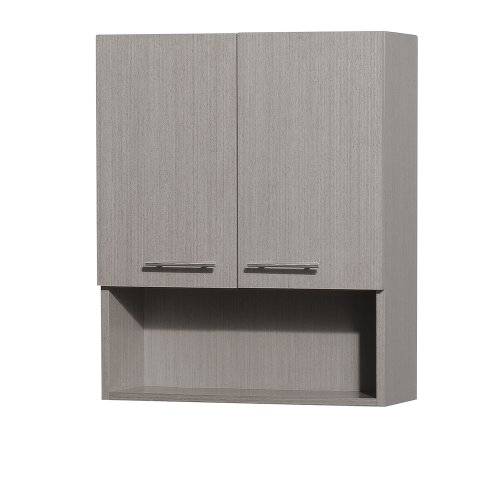 8 o6daily cheap wyndham collection centra wall mounted bathroom storage cabinet in grey oak two for Cheap bathroom storage cabinets