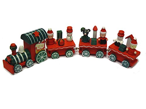 Trixes holz eisenbahn weihnachtsdekoration ornament zug deko - Deko eisenbahn ...