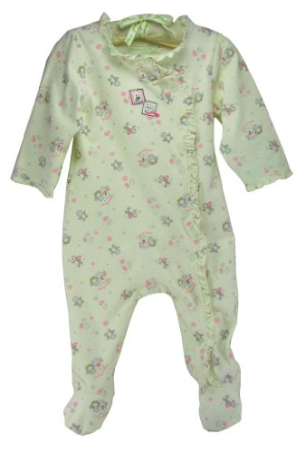 "Organic Cotton Girls ""Winter Friends"" Coverall By Organically Grown, Size - 3 Months front-678088"