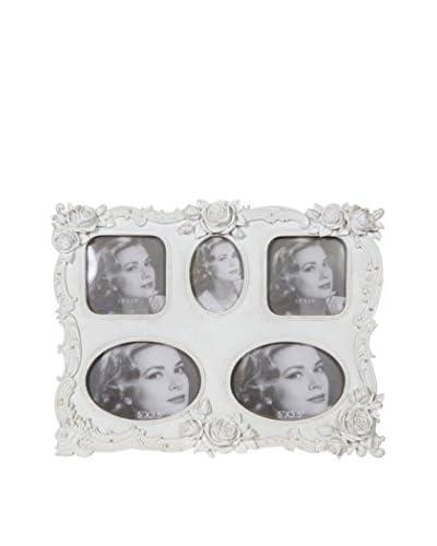 ARREDO WHITE Portafoto 5 Finestre Bianco 33 x 25.5 x 3.5 cm