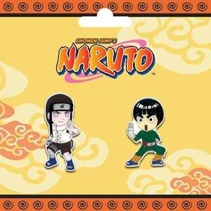 Naruto: Pins - Neji & Rock Lee