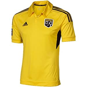 World Cup adidas Columbus Crew 2012 Home Replica Jersey - Gold (Large) by adidas