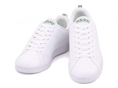 [アディダス] adidas メンズ オールラウンド ローカット スニーカー シンプル ベーシック バルクリーン VALCLEAN F98490 ランニングホワイト/ランニングホワイト/グリーン 30.0cm