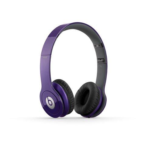 Beats BTONSOLOHD | Solo HD On-Ear Headphone (Purple 900-00064-01)