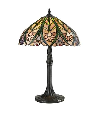 Dale Tiffany Cactus Bloom Table Lamp, Multi