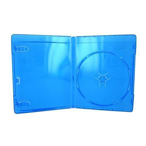Imagen de 25 x Vacío Azul Estándar Reemplazo Cajas / Estuches para Blu-Ray Peliculas DVD (DVBR12BR)