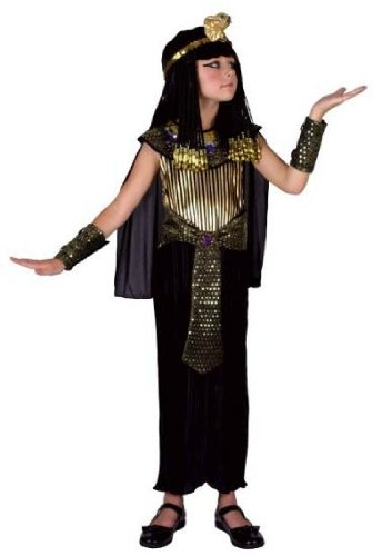 Creative Parties Queen Of The Nile Egyptian Fancy Dress (Age 7-10 Years)