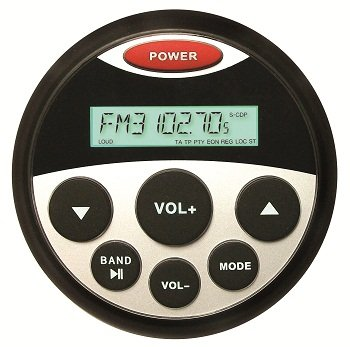 "Milennia PRV16 AM/FM Receiver 3-¼"" Round Hole Cutout"