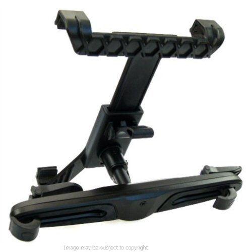 Buybits Car Headrest Mount For The Zoostorm Sl8 Slate Tablet Pc front-391947