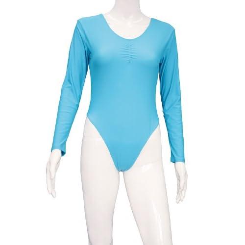 とある男娘の体操衣装 水色