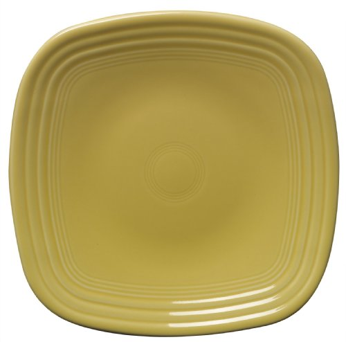 Fiesta 9-1/8-Inch Square Luncheon Plate  Sunflower