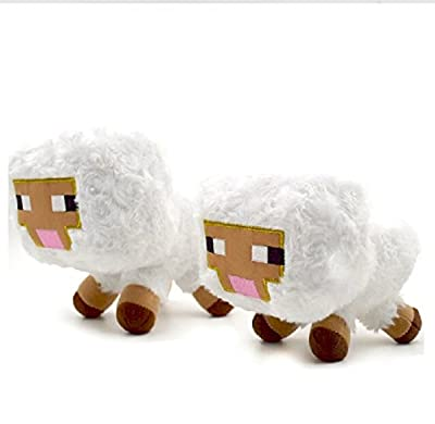 """Minecraft 7"""" Plush Toys by Jazwares Domestic"""