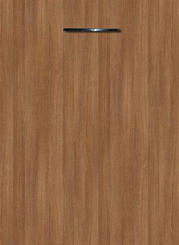 Küchenschrank Unterschrank Front für Geschirrspüler FE (Breite 45cm-vollintegriert, 11 Cassino Esche braun)