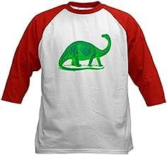 CafePress Kids Baseball Jersey - quotBrontosaurusquot Kids Baseball Jersey