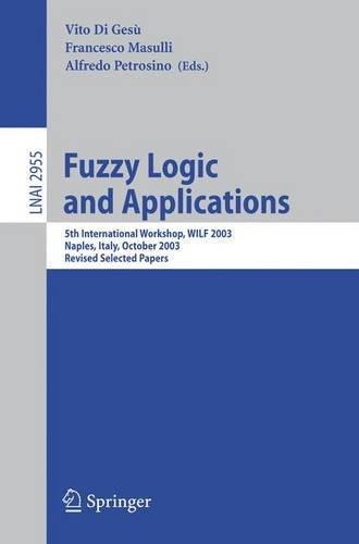 Fuzzy Logic and Applications: 5th International Workshop, WILF 2003, Naples, Italy, October 9-11, 2003, Revised Selected