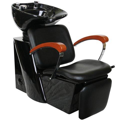 Salon shampoo backwash unit bowl chair su 75 cheap for Salon shampoo chairs