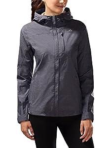 Paradox Women's Platinum Waterproof Rain Jacket (Large, Eclipse)