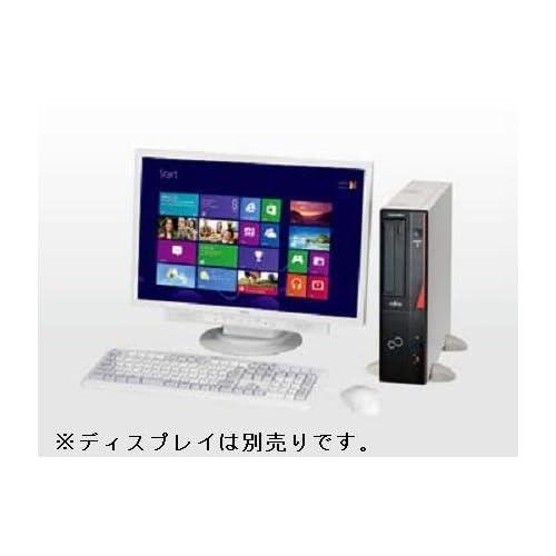 富士通 デスクトップパソコン ESPRIMO D551/GX (Win7 Pro SP1 32bit/Core i3-3240/メモリ 4GB(空き1)/HDD 500GB/Sマルチ) リカバリディスク付き 標準保証(1年間) FMVD0502JP