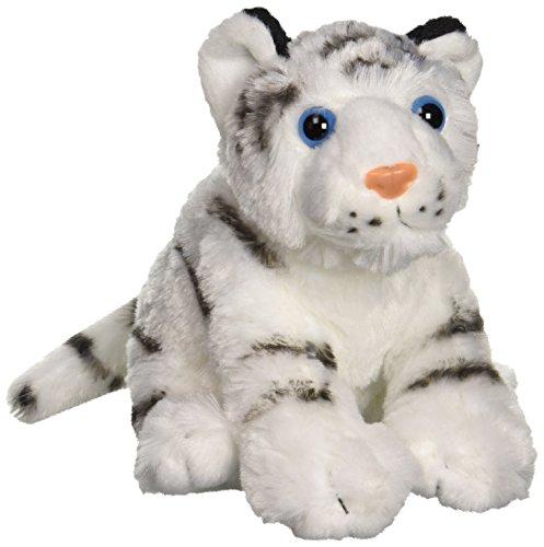 "Wild Republic CK-Mini Tiger White Baby 8"" Animal Plush"
