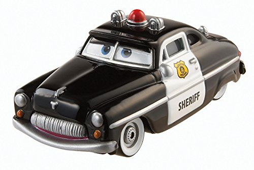 Disney/Pixar Cars, 2015 Radiator Springs Die-Cast Vehicle, Sheriff #3/19, 1:55 Scale - 1