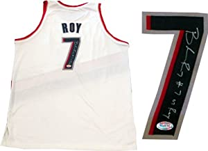 Brandon Roy 07 ROY Autographed Portland Trail Blazers Authentic White Jersey