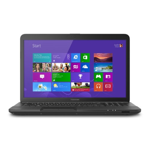 Toshiba Satellite C870-ST4NX5 Laptop Notebook Windows 8 - Intel 1000M 1.80GHz - 4GB RAM - 500GB HD - 17.3 inch exhibit