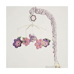 SMALL WONDERS CRIB MOBILE BUTTERFLY DREAMS